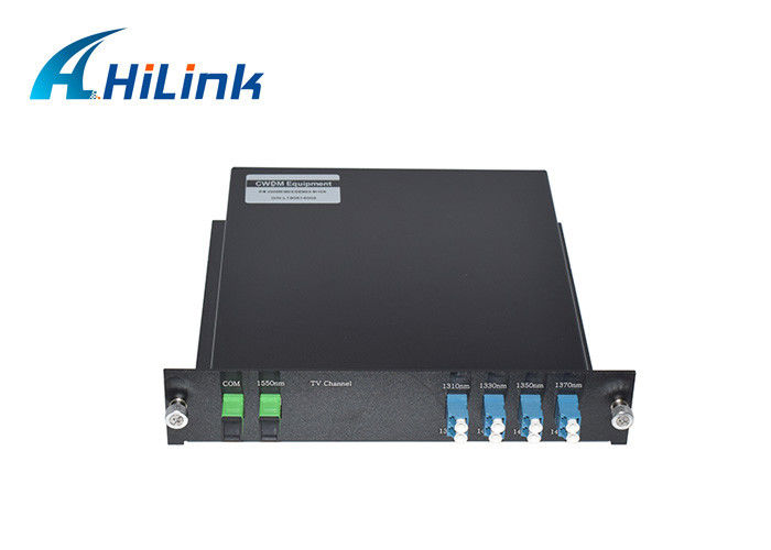Hilink Single Fiber CWDM Mux Demux Module 9 Channel New Condition With LGX Box